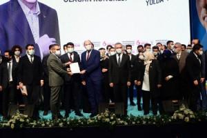 AK Parti Kahramanmaraş Gençlik Kolları 6. olağan kongresi yapıldı