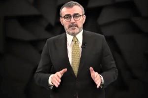 """Mahir Ünal, """"Kemal Kılıçdaroğlu ve etrafında toplanan avaneleri bu ülkede huzursuzluk iklimi oluşturmak istiyor"""""""