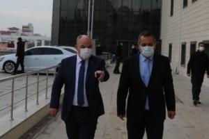 Vali Ömer Faruk Coşkun'dan Dulkadiroğlu Kaymakamlığına Ziyaret