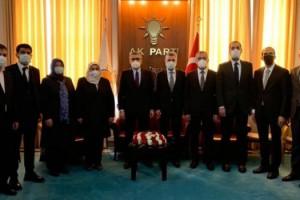 Ak Parti Kahramanmaraş'tan tam kadro, Mahir Ünal'a ziyaret