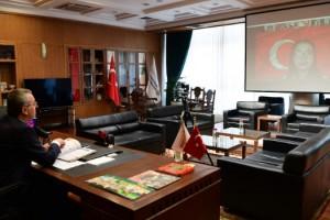 Başkan Güngör Çocuklarla Çevrimiçi Görüştü