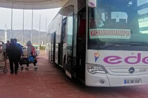 Büyükşehir'den Kahramanmaraşspor'a Ulaşım Desteği