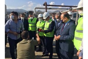 ENERJİ VE TABİİ KAYNAKLAR BAKANI'NDAN KİPAŞ HOLDİNG'E ZİYARET