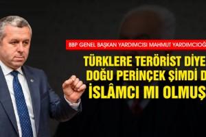 Prof. Dr. Yardımcıoğlu: Türklere Terörist Diyen Doğu Perinçek Şimdi de İslâmcı mı Olmuş?