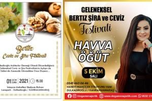 Kahramanmaraş'ta 1. Bertiz Şıra ve Ceviz Festivali İçin Geri Sayım Başladı!