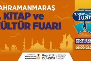 Kahramanmaraş 7. Kitap ve Kültür Fuarı Başlıyor!