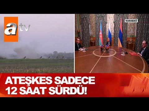 Ermenistan yine sivilleri vurdu! - Atv Haber 11 Ekim 2020