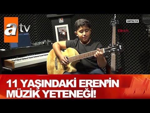 11 Yaşındaki Eren'in müzik yeteneği! - Atv Haber 17 Ekim 2020