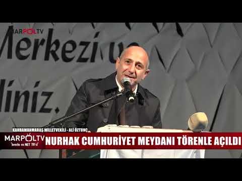 Nurhak Cumhuriyet Meydanı Açılış Marpol Tv