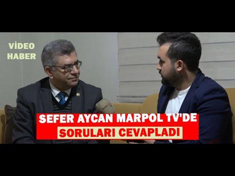 SEFER AYCAN MARPOL TV'DE SORULARI CEVAPLADI